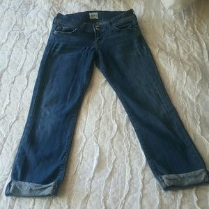 Hudson crop jeans